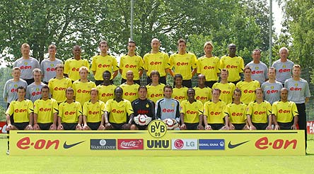 Боруссия дортмунд 2005 состав